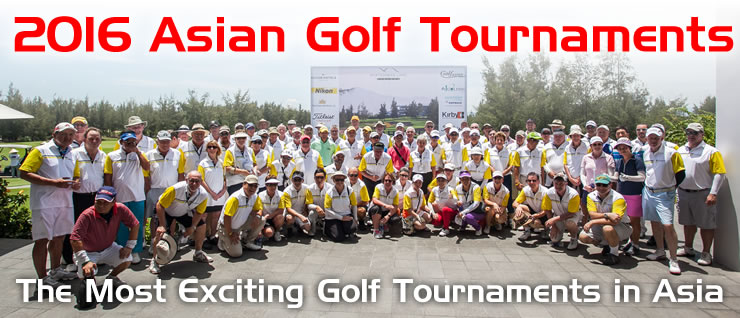 Asia Golf Events