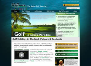Golfasian Delivers Enhanced Website