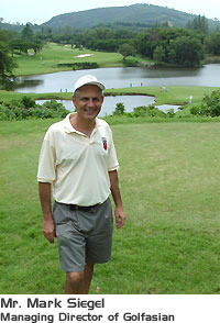 Mark Siegel - Managing Director of Golfasian