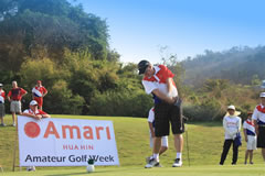 Tee-off at the Amari Hua Hin Amateur Golf Week