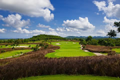 Siam Country Club Plantation Course in Pattaya