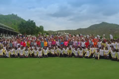 Centara World Masters Participants at Black Mountain Golf Club.