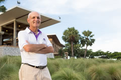 Mark Siegel owner of Bangkok-based Golfasian.