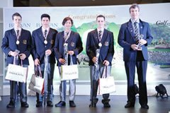 Whangarei Boys' High Team Gross Winner